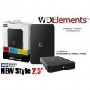 WD 250GB Elements EXT 2.5""