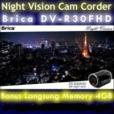 Brica DV-R30FHD Night Vision Cam Corder